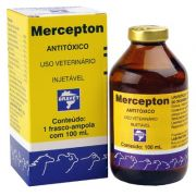 MERCEPTON 100ml - ANTI-TOXICO INJETAVEL - BRAVET