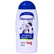 SHAMPOO SANOL DOG NOVAPIEL 500 ML - PERÓXIDO DE BENZOÍLA 2,5%