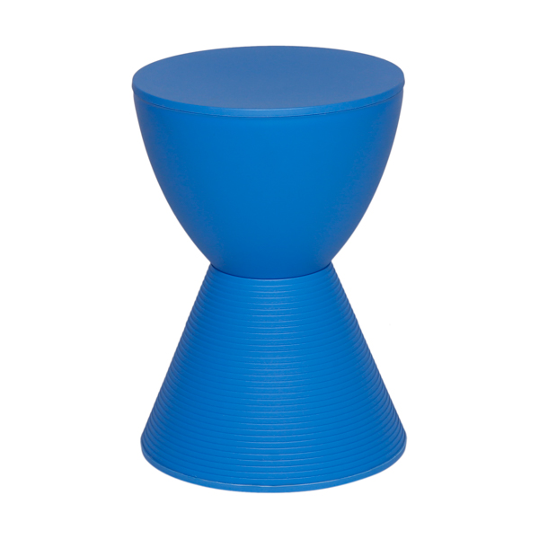 Banco Tub Pawn Policarbonato Azul - Moln Design Furniture