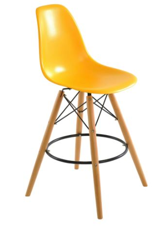 Banqueta Eiffel Amarela - Moln Design Furniture