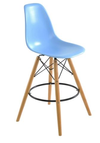 Banqueta Eiffel Azul - Moln Design Furniture