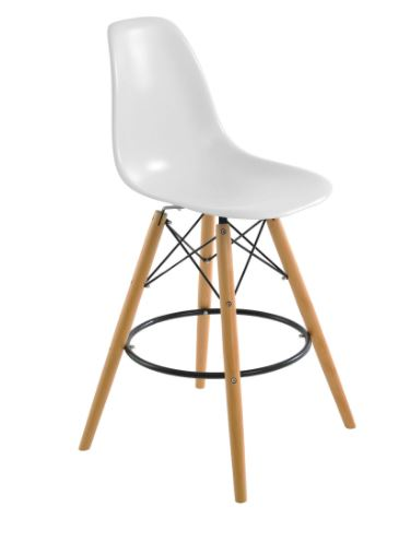Banqueta Eiffel Branca - Moln Design Furniture