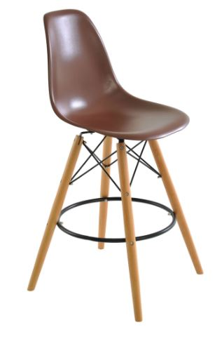 Banqueta Eiffel Marron - Moln Design Furniture