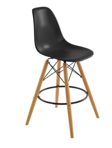 Banqueta Eiffel Preta - Moln Design Furniture