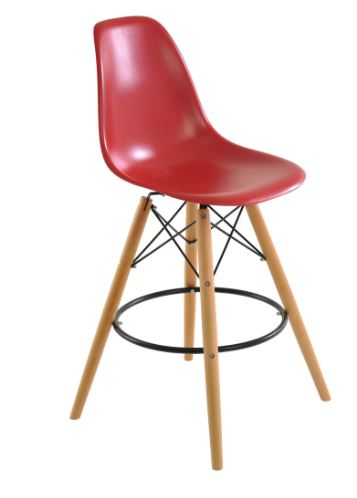 Banqueta Eiffel Vermelha - Moln Design Furniture
