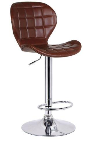 Banqueta Lucia PU Marrom - Moln Design Furniture