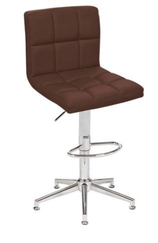 Banqueta Recife Marrom Base Estrela - Moln Design Furniture