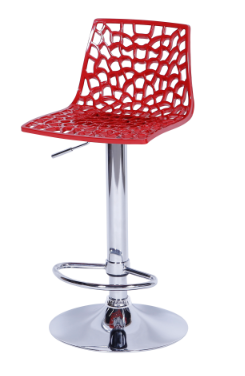 Banqueta Spider Vermelha - Moln Design Furniture