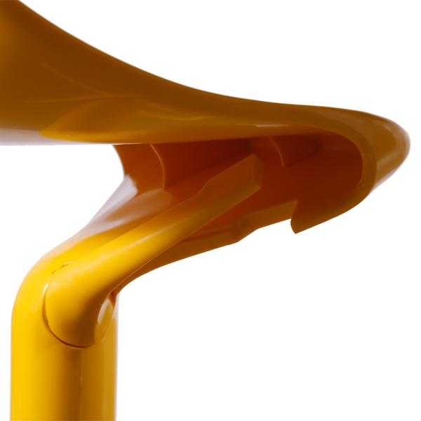 Banqueta Spoon Kartell Amarela - Moln Design Furniture