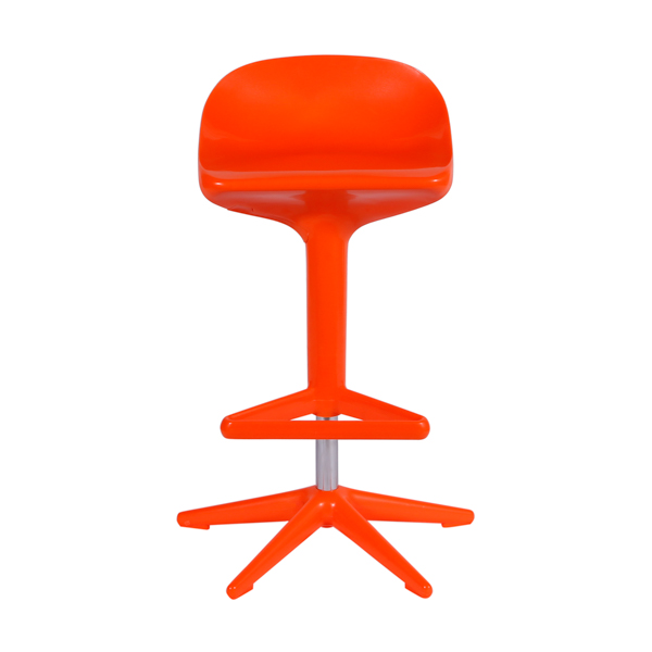 Banqueta Spoon Kartell Laranja - Moln Design Furniture