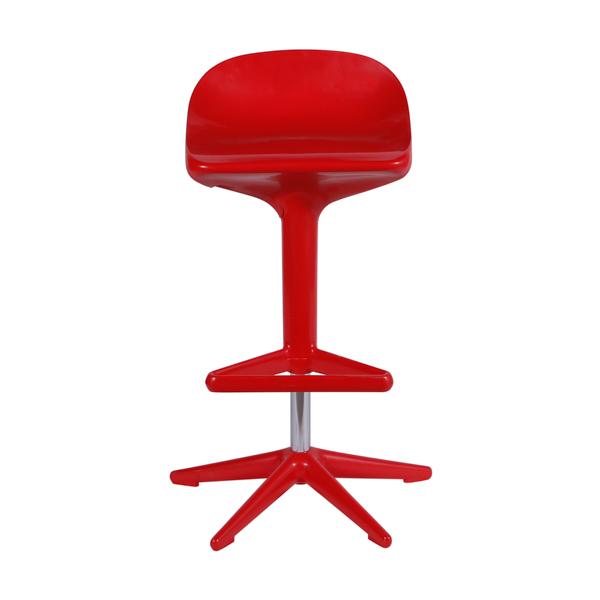 Banqueta Spoon Kartell Vermelha - Moln Design Furniture