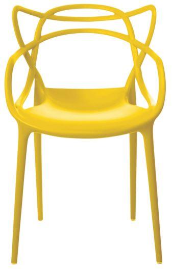 Cadeira Allegra Amarela - Moln Design Furniture