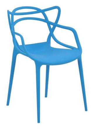 Cadeira Allegra Azul - Moln Design Furniture