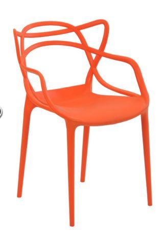 Cadeira Allegra Laranja - Moln Design Furniture