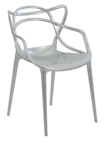 Cadeira Allegra Prata - Moln Design Furniture