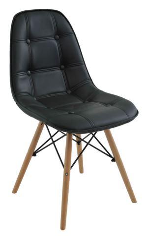 Cadeira Eiffel Botone Preta - Moln Design Furniture