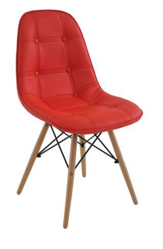 Cadeira Eiffel Botone Vermelha - Moln Design Furniture