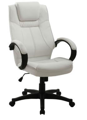 Cadeira Escritorio Cordoba Branca - Moln Design Furniture