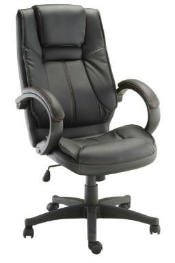 Cadeira Escritorio Cordoba Preta - Moln Design Furniture