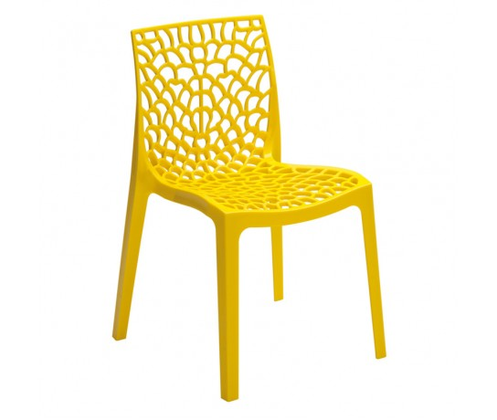 Cadeira Gruvyer Amarelo - Moln Design Furniture