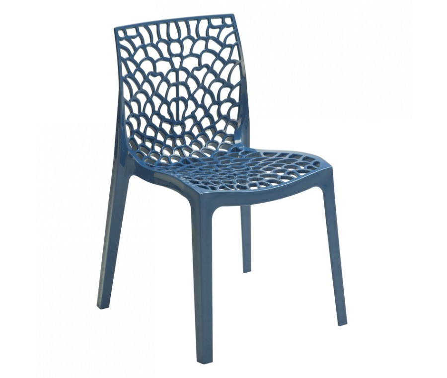 Cadeira Gruvyer Azul - Moln Design Furniture