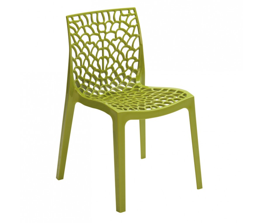 Cadeira Gruvyer Verde - Moln Design Furniture