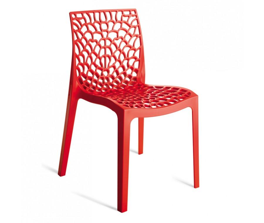Cadeira Gruvyer Vermelho - Moln Design Furniture