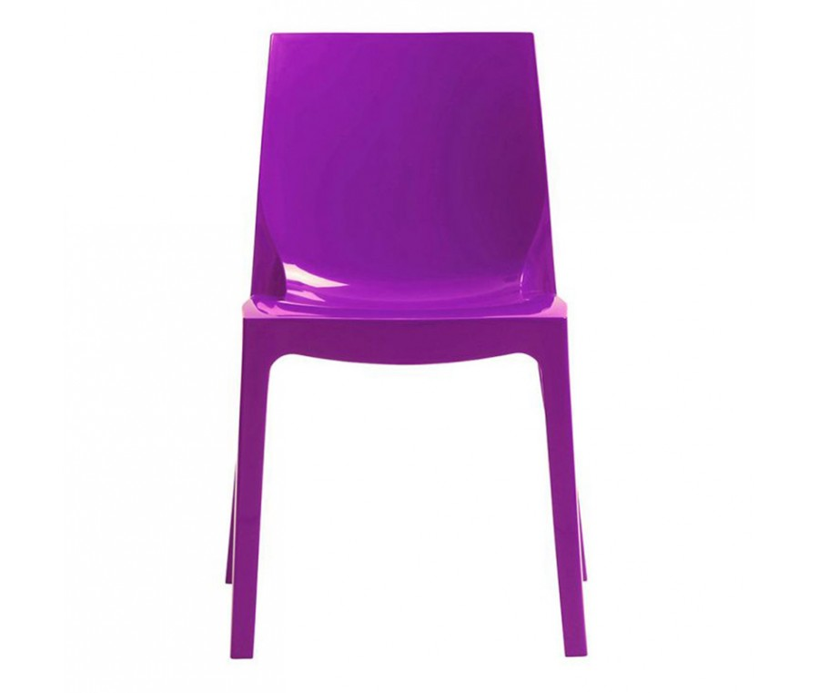 Cadeira Ice Polipropileno Roxo - Moln Design Furniture