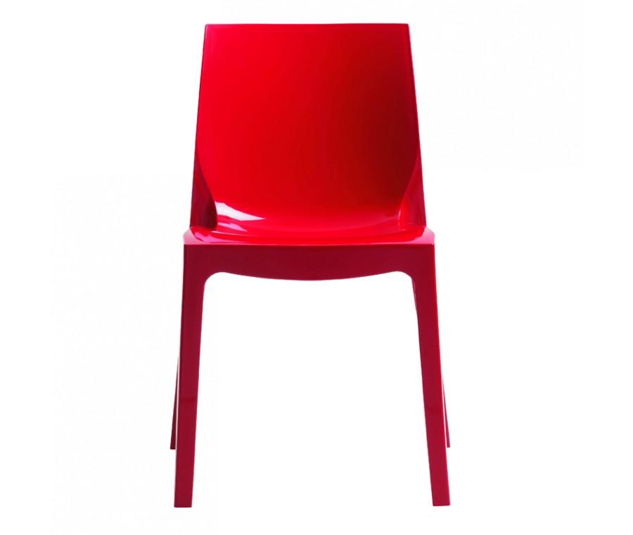Cadeira Ice Polipropileno Vermelho - Moln Design Furniture