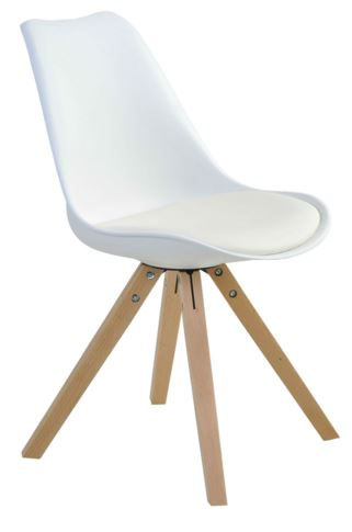 Cadeira Ligia Branca - Moln Design Furniture