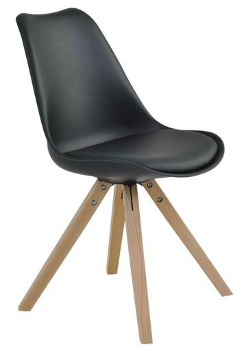 Cadeira Ligia Preta - Moln Design Furniture