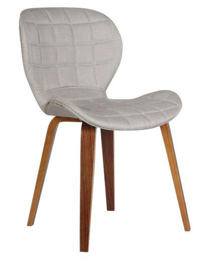 Cadeira Lucia Linho Bege - Moln Design Furniture