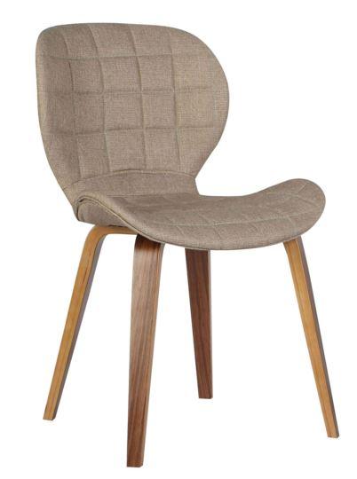 Cadeira Lucia Linho Marrom Claro - Moln Design Furniture
