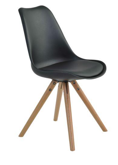 Cadeira Luisa Preta - Moln Design Furniture