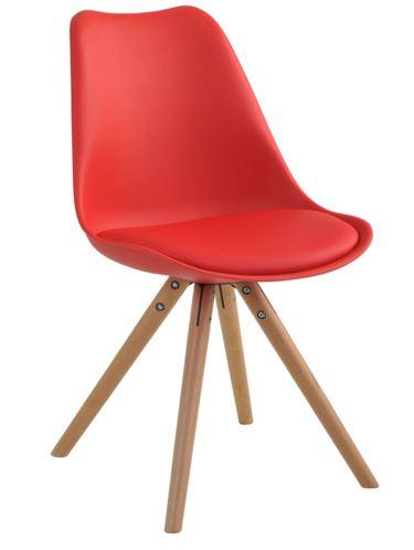 Cadeira Luisa Vermelha - Moln Design Furniture