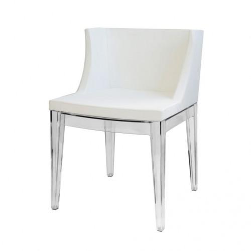 Cadeira Mademoiselle Christie Philippe Starck Branca - Moln Design Furniture