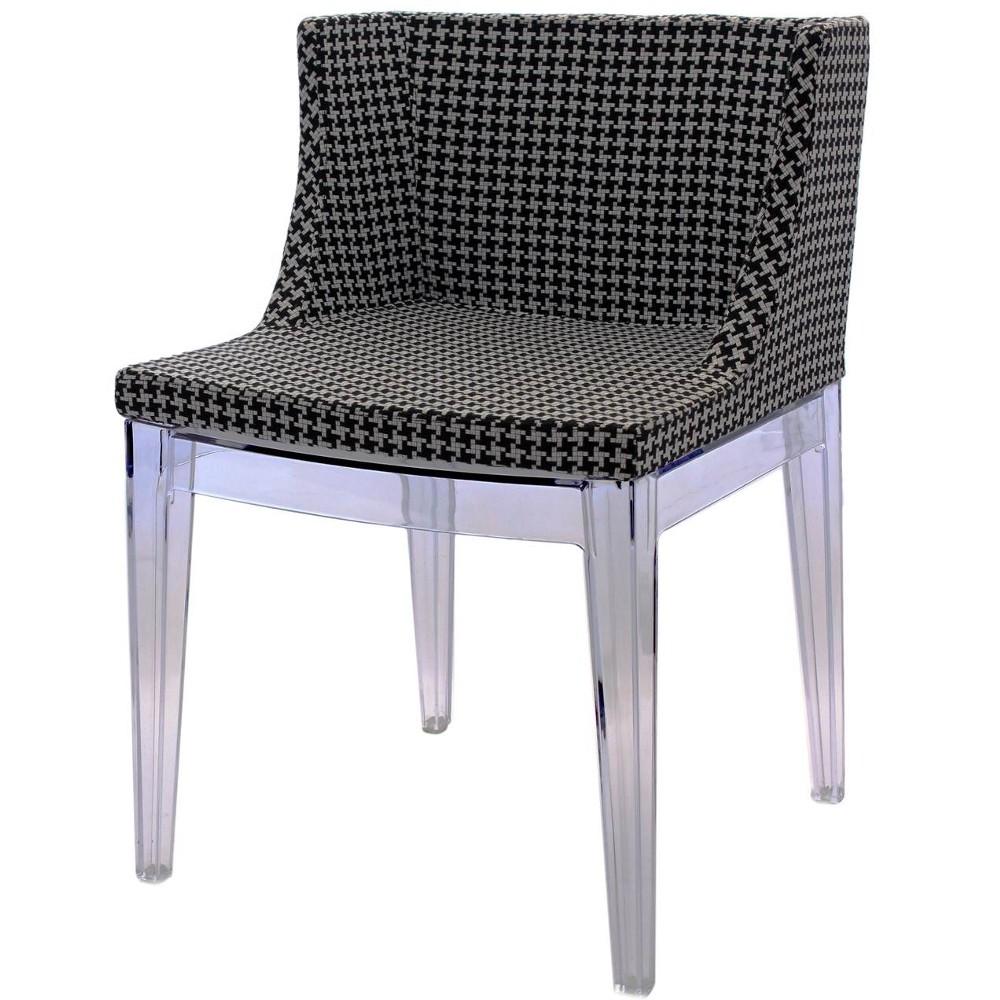 Cadeira Mademoiselle Christie Philippe Starck Tecido Xadres - Moln Design Furniture