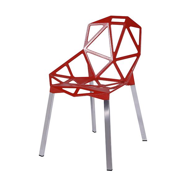 Cadeira Penélope One Vermelha - Moln Design Furniture