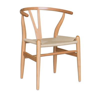 Cadeira Valentina Madeira Clara Assento de Palha - Moln Design Furniture