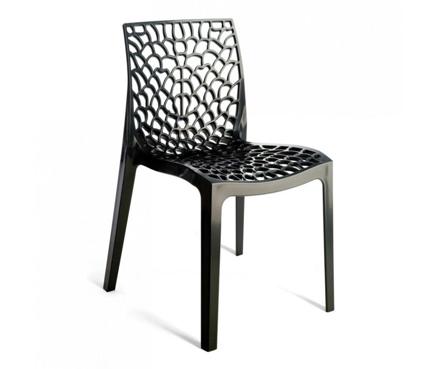 Cadeira Gruvyer Preta - Moln Design Furniture