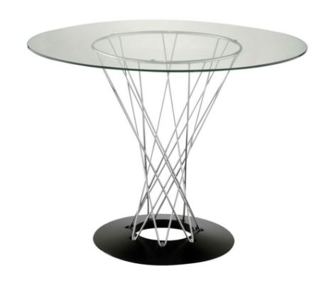 Mesa Cyclone Tampo Vidro - Moln Design Furniture