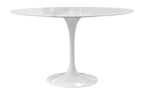Mesa Saarinen de Jantar Redonda 100cm - Moln Design Furniture