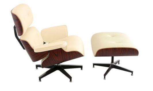 Poltrona Charles Eames Creme - Moln Design Furniture
