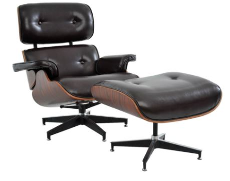 Poltrona Charles Eames Marrom - Moln Design Furniture