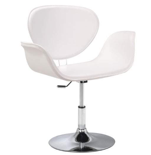 Poltrona Tulipa PU Branco - Moln Design Furniture