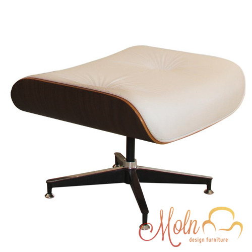 Puff Suporte para Pés Charles Eames B13 Branco - Moln Design Furniture