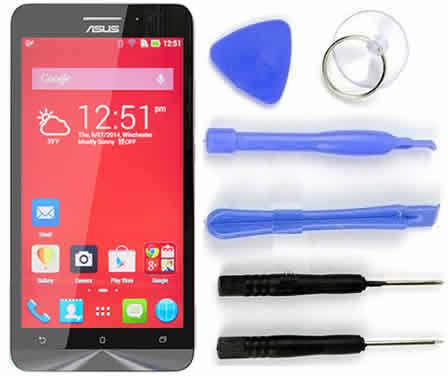 Tela Touch Screen Lcd Asus Zenfone 6 A600 A601 Original