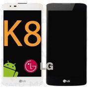 Tela Touch Display LCD LG K8 K350 K350ds Original C/ Aro