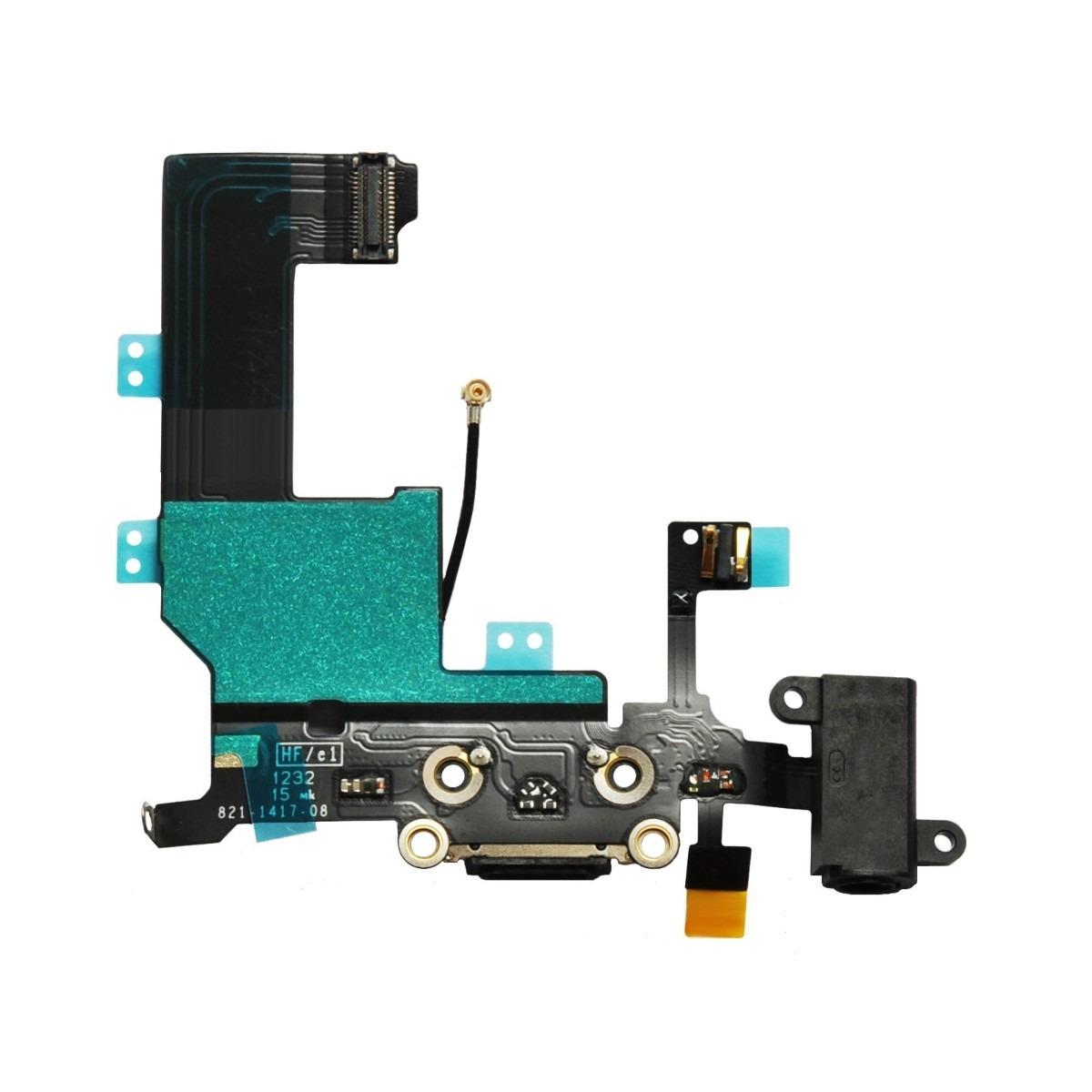 Cabo Flex iPhone 5 / 5s / 5c Dock Conector Carga Usb Fone Antena