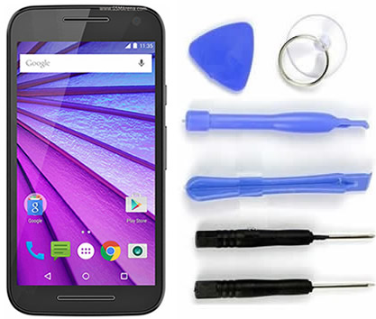 Tela Touch Display Motorola Moto G3 3° Geração  Xt1543 Xt1544 Original